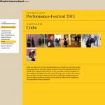 LIUBA - Performance Festival - Bremen 2011