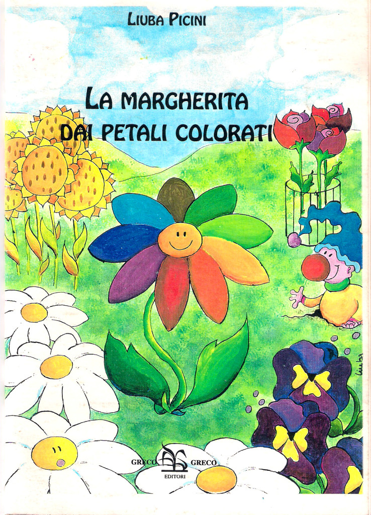 La margherita dai petali colorati book