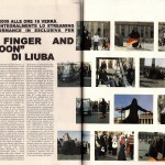 LIUBA - The Finger and the Moon - Arskey Magazine, 2009